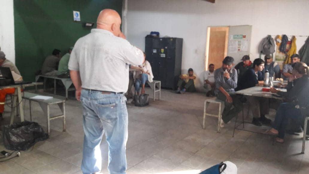 PERSONAL DE PROLIM SE CAPACITÓ HOY (JUEVES) EN HIGIENE, SEGURIDAD LABORAL, PRIMEROS AUXILIOS Y RCP