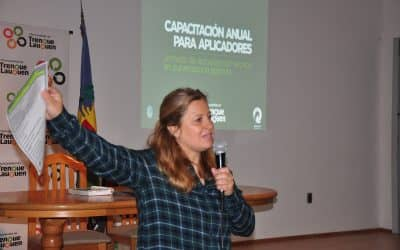 MAÑANA (JUEVES) ES LA CAPACITACIÓN TEÓRICO-PRÁCTICA ANUAL Y OBLIGATORIA PARA APLICADORES TERRESTRES