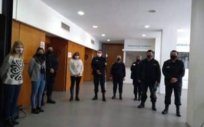 PERSONAL POLICIAL DE TRENQUE LAUQUEN Y BERUTTI PARTICIPÓ DE UNA JORNADA DE CAPACITACIÓN SOBRE VIOLENCIA DE GÉNERO