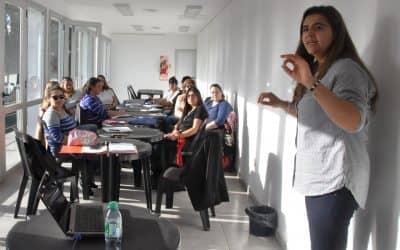 Se realizaron capacitaciones de la Red Escuelas de Aprendizaje