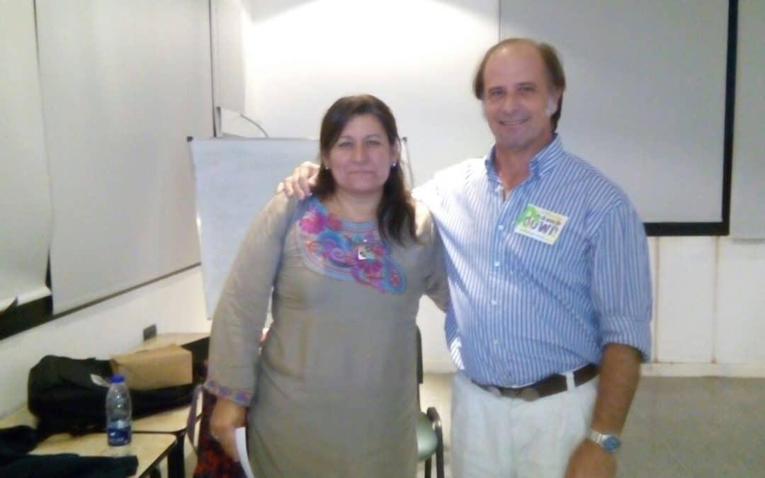 Arias participó de una capacitación sobre Síndrome de Down en General Villegas