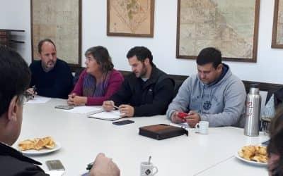 FABRIS EXPUSO DE QUÉ MANERA TRABAJA EL MUNICIPIO CON LA RURAL EN UNA REUNIÓN DE LA ZONA I DE CARBAP