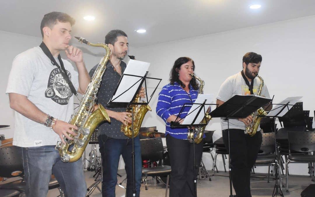 Se realizó un concierto de cierre de año en la Escuela de Música