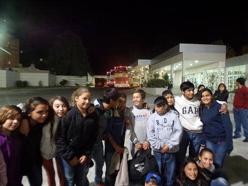 Egresados viajaron a Claromecó