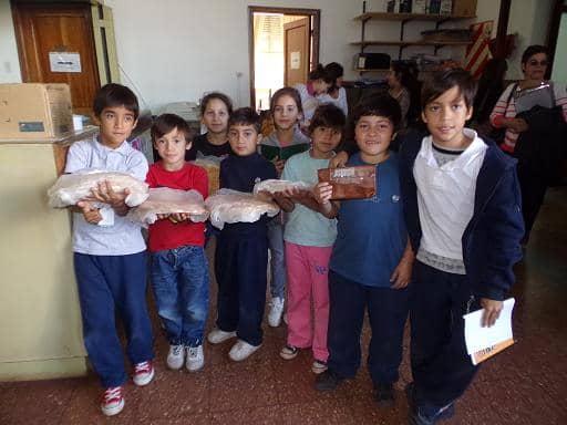 Pre pizzas caseras de Casa del Niño