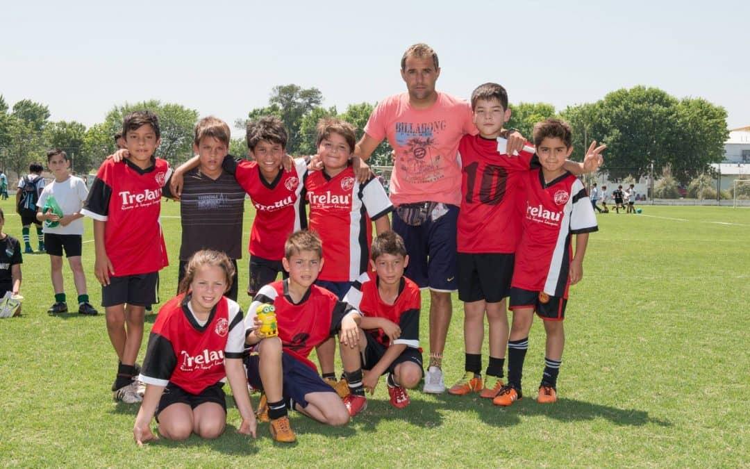 Casa del Niño participó de un seven de fútbol infantil