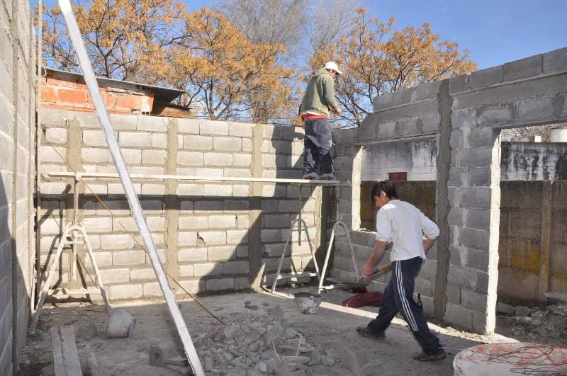 Viviendas sociales con bloques de hormig n municipalidad for Construccion casas hormigon