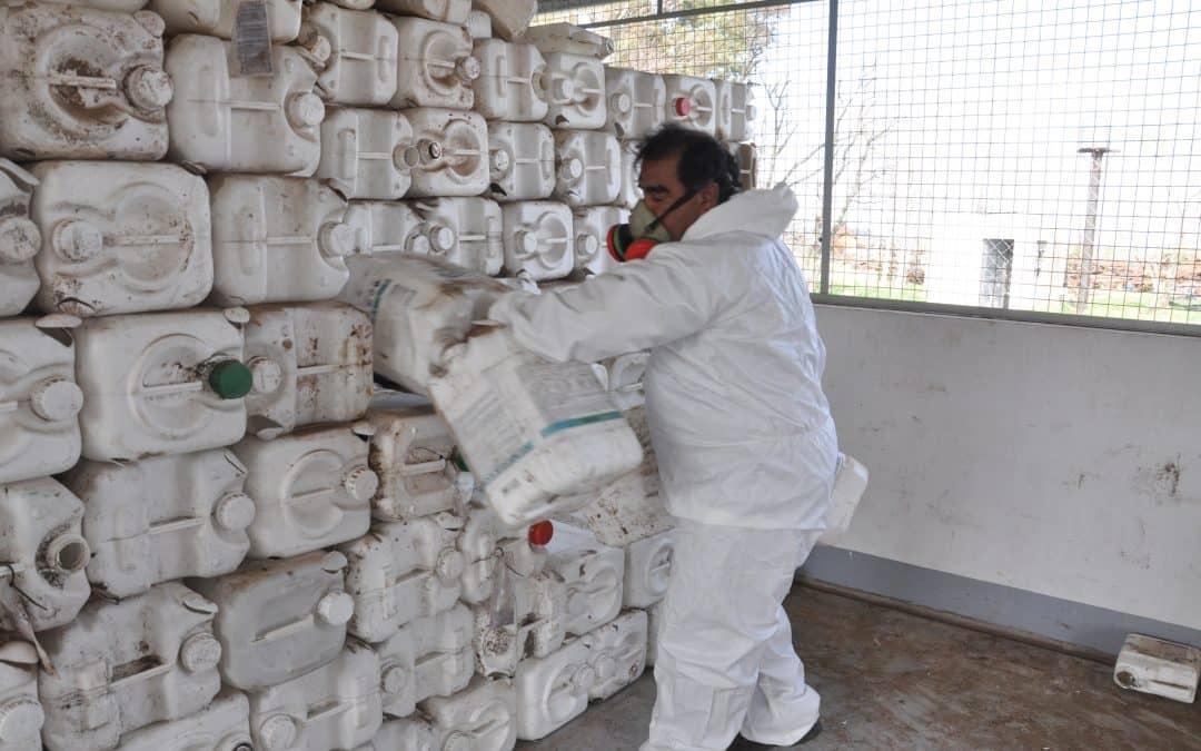 Sistema de seguimiento de envases vacíos de agroquímicos del OPDS