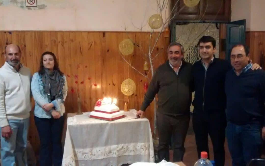 Cena Baile, y un festival folclórico en Berutti por su aniversario