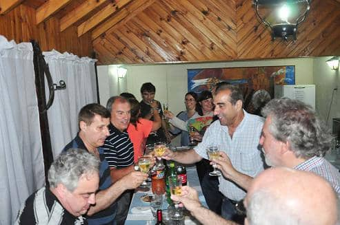 Cena con periodistas