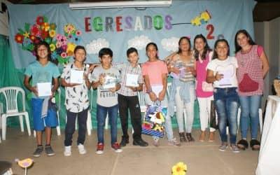 Se realizó el cierre de año del centro infantil de 30 de Agosto
