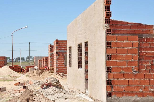 Importantes avances en la construcción de viviendas