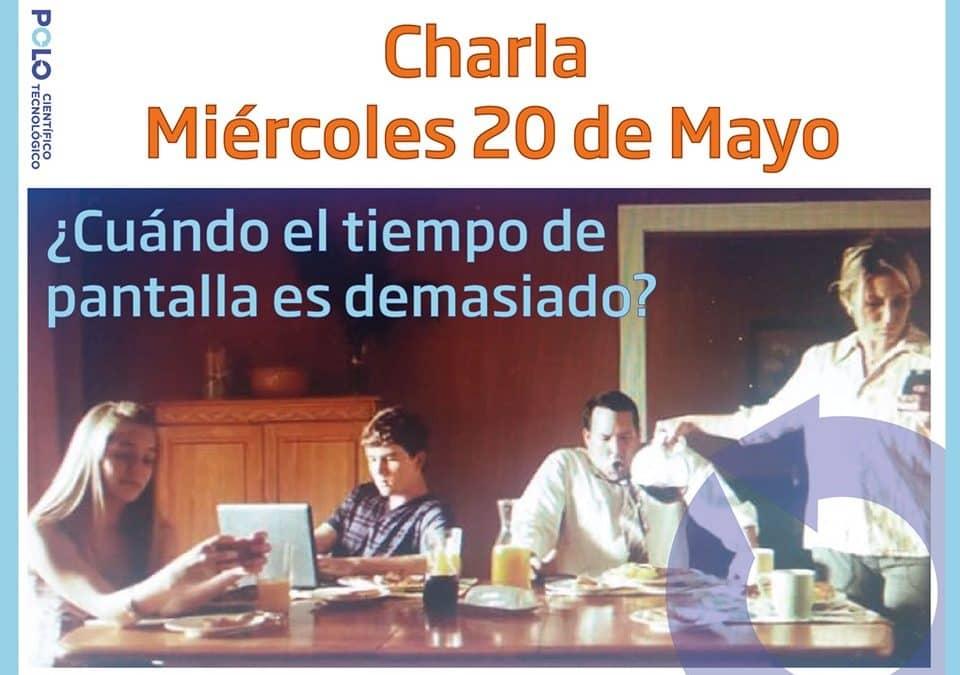 CHARLA ON LINE DEL POLO CIENTÍFICO TECNOLÓGICO SOBRE LOS NIÑOS Y ADOLESCENTES, EQUILIBRIO EN LOS MEDIOS Y EL BIENESTAR FAMILIAR