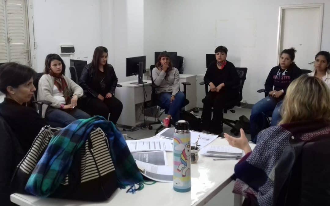 CHARLA SOBRE CONFORMACIÓN DE COOPERATIVAS DE TRABAJO CON TRES GRUPOS ASOCIATIVOS LOCALES