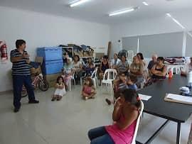 Charla sobre Dengue en el Ramón Carrillo