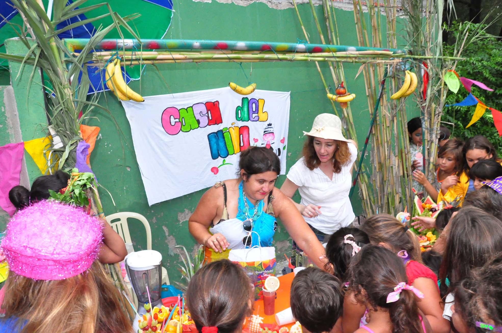 Jornada de cierre de la Colonia de Verano de Casa del Niño