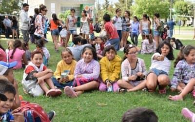 FESTIVO CIERRE DE LA ESCUELA ABIERTA DE VERANO ESTA MAÑANA (JUEVES) EN EL PARQUE MUNICIPAL