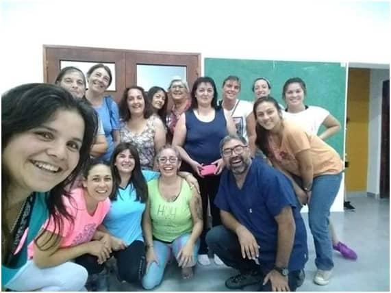 EN EL CIC DEL BARRIO ESPERANZA LOS SÁBADOS HAY CLASES ABIERTAS DE TRE PARA LIBERARSE DEL ESTRÉS Y EL TRAUMA
