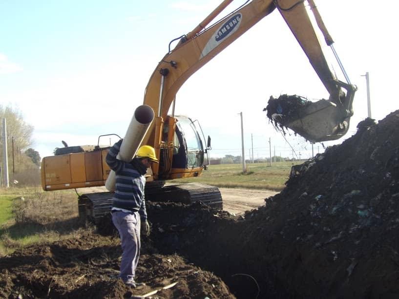 Ampliación Urbana: la comuna terminó la obra de cloacas e inició la de agua