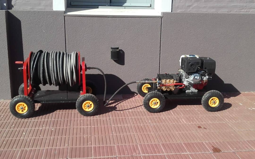 Berutti: equipamiento para mantenimiento de red cloacal