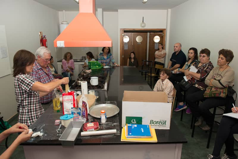 Se realizó un taller de cocina para celíacos en la Escuela Municipal