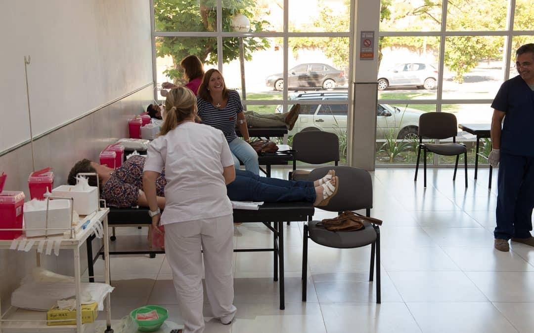 Buena respuesta de los vecinos a la campaña de colecta de sangre