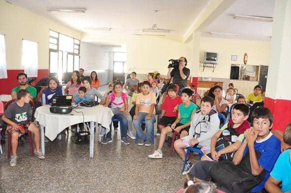 Cierre de la colonia barrial en Casa del Niño
