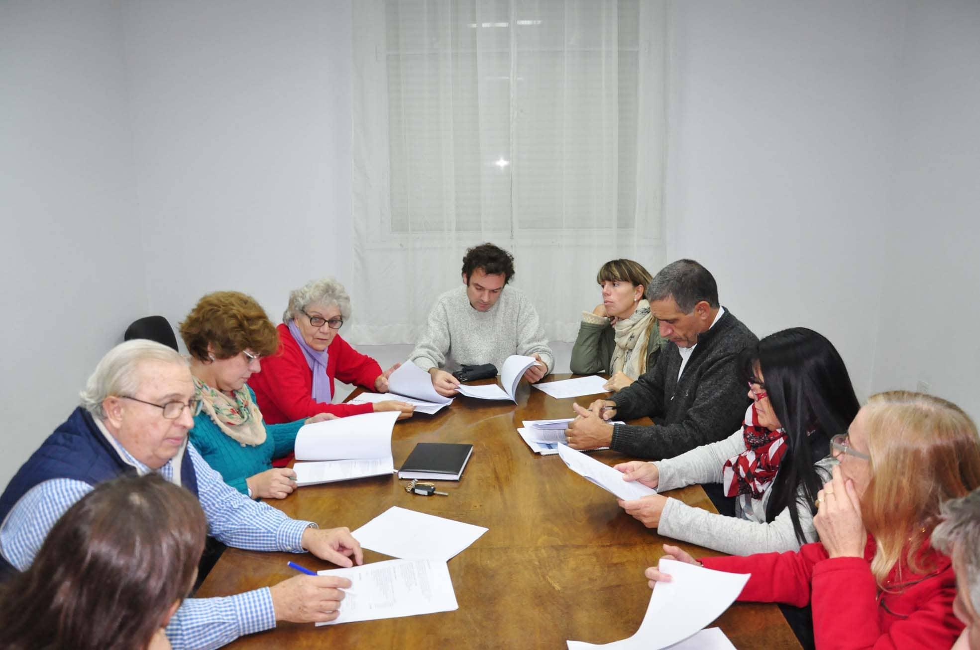 Se reunió la Comisión Evaluadora del PP 2015