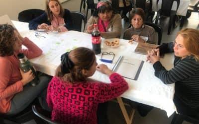 EL INTENDENTE, FUNCIONARIOS MUNICIPALES Y COMISIONES BARRIALES COMPARTIERON EL PRIMER TALLER DE TRABAJO