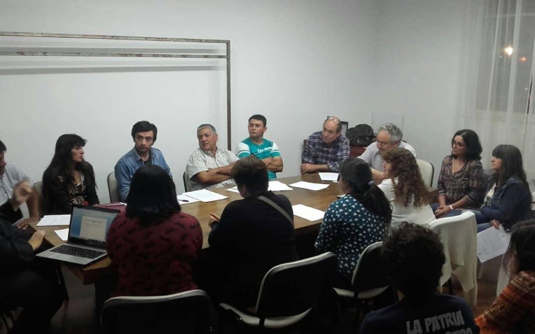 El Municipio se reunió con referentes barriales