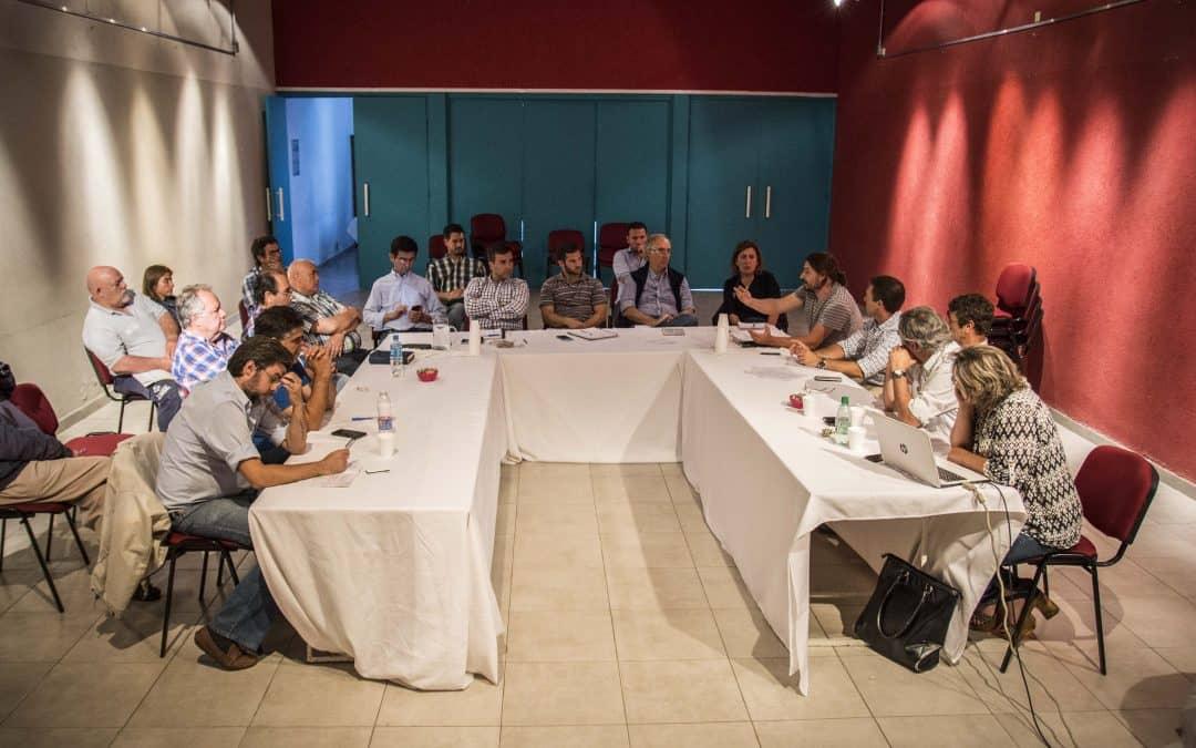 Con el anuncio de obras hídricas de la Provincia, se realiza la última reunión del Comité de Cuenca