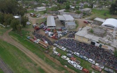 La Municipalidad inició el proceso de compactación de 1200 motos y 120 autos secuestrados