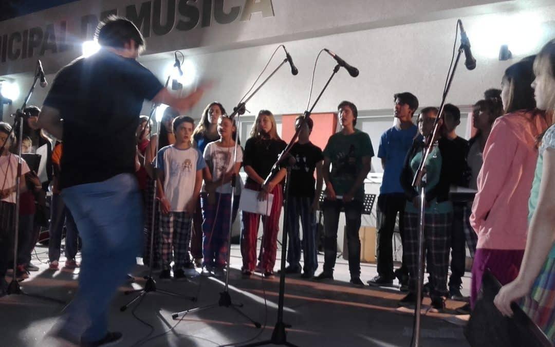 Se realizó un concierto de la Escuela Municipal de Música