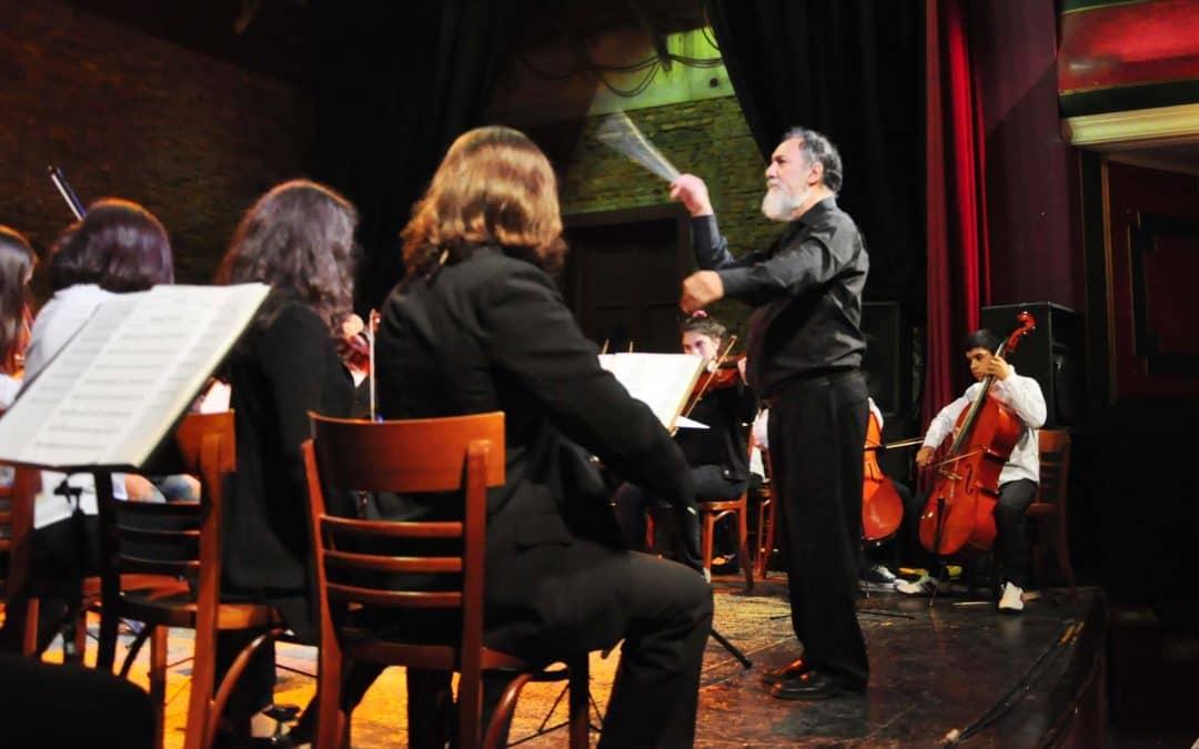 Este domingo será el concierto de la Orquesta Sinfónica