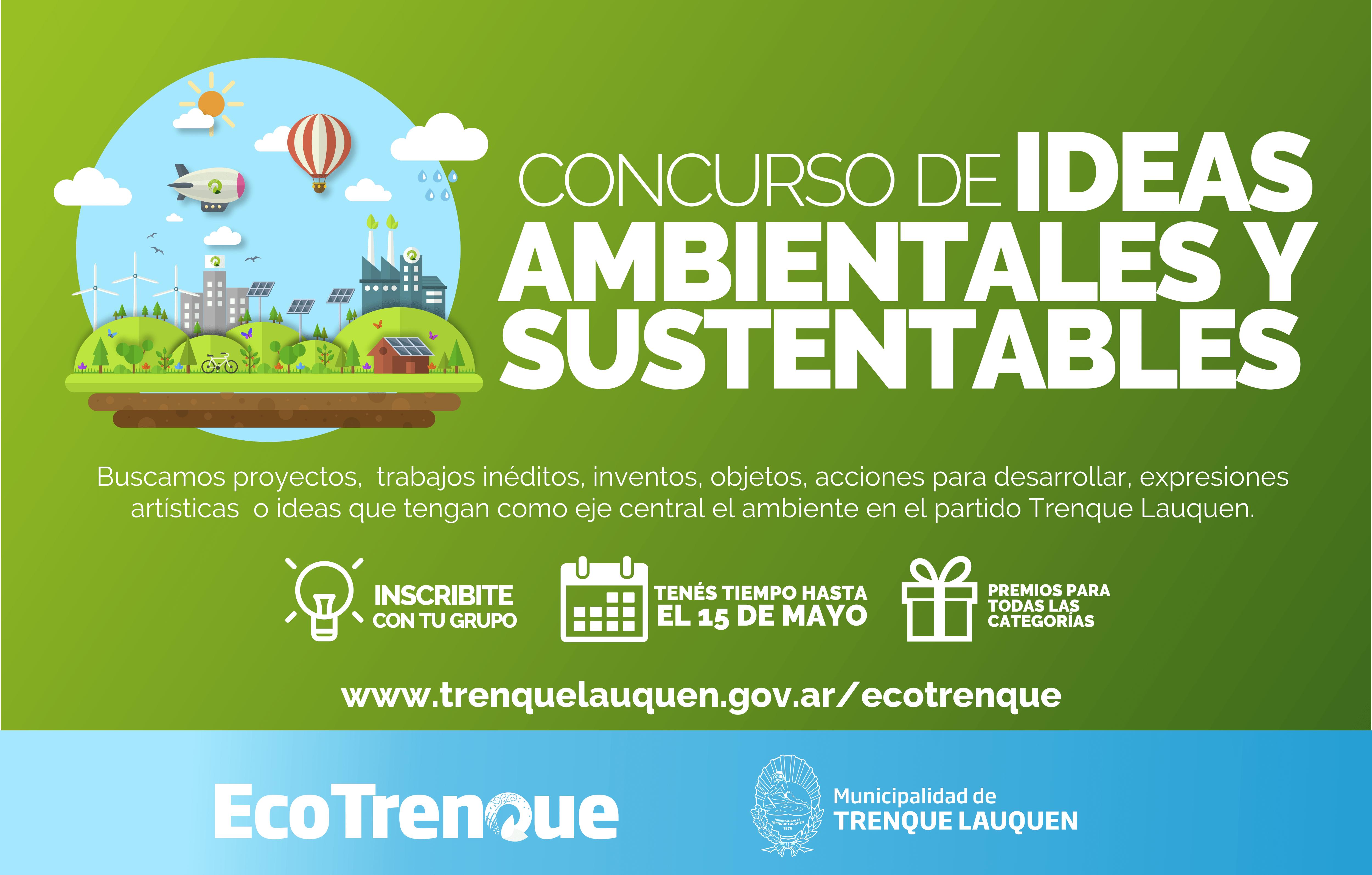 Se lanza mañana el Concurso de Ideas Ambientales