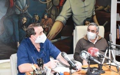 EL DR. VALENTE INFORMÓ QUE DE LAS 13 PERSONAS QUE ESTABAN EN AISLAMIENTO, DOS TUVIERON SÍNTOMAS Y FUERON HISOPADAS