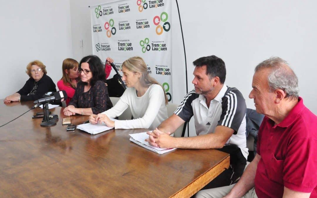 Recorridos para los participantes de la Colonia para Adultos Mayores de Pami y el Municipio