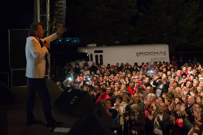 Palito Ortega cerró la edición 2017 de los Carnavales Municipales