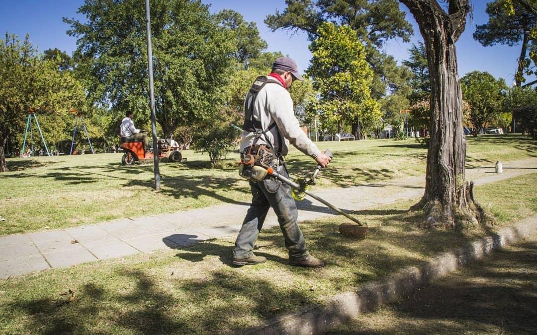 Mantenimiento de espacios verdes públicos