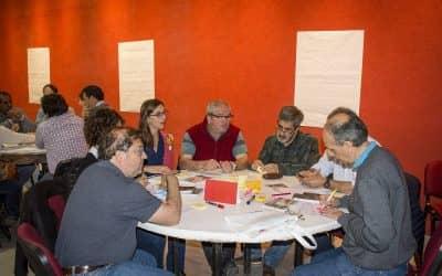 EL INTENDENTE Y FUNCIONARIOS REALIZARON HOY (JUEVES) UN CAPACITACIÓN SOBRE CREATIVIDAD