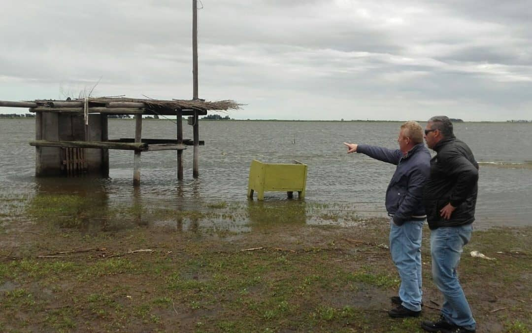 El Municipio detuvo el plan de obras en Cuero de Zorro por el ingreso de agua