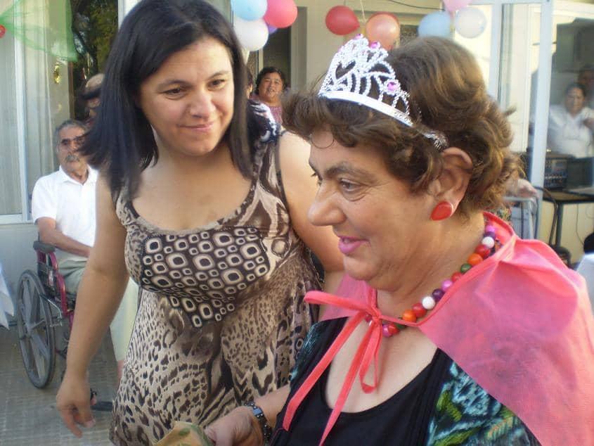 Abuelos del Castella viajaron a 30 de Agosto a un festejo de cumpleaños