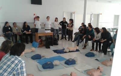 Se realizó un curso de RCP para pacientes pediátricos