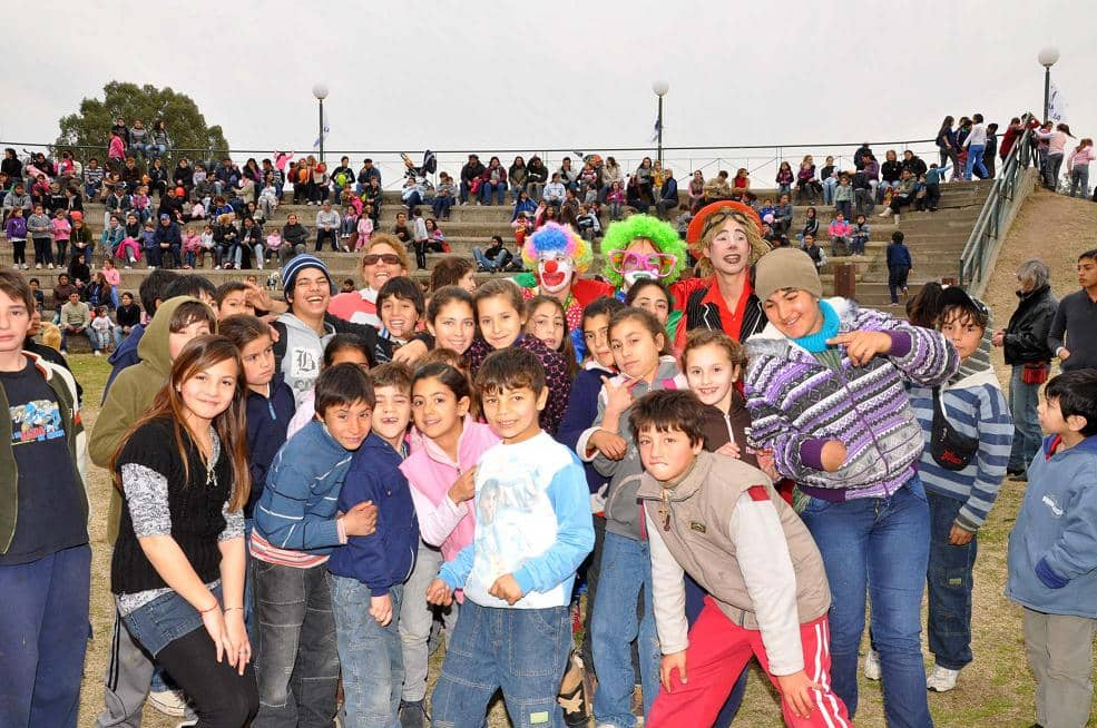 Más de 5 mil personas en los festejos del día del niño