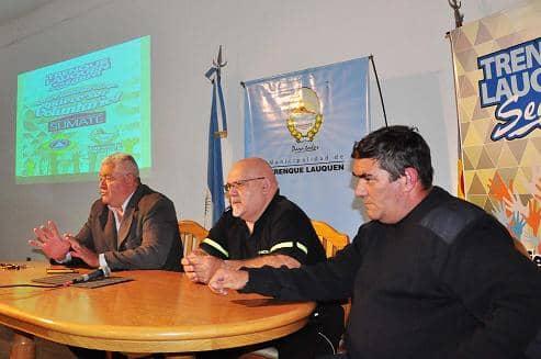 Reunión con voluntarios de Defensa Civil