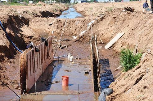 Mejoran desagües pluviales