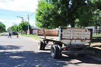 Descacharrización: hoy en Trejo, entre Prado y Perú