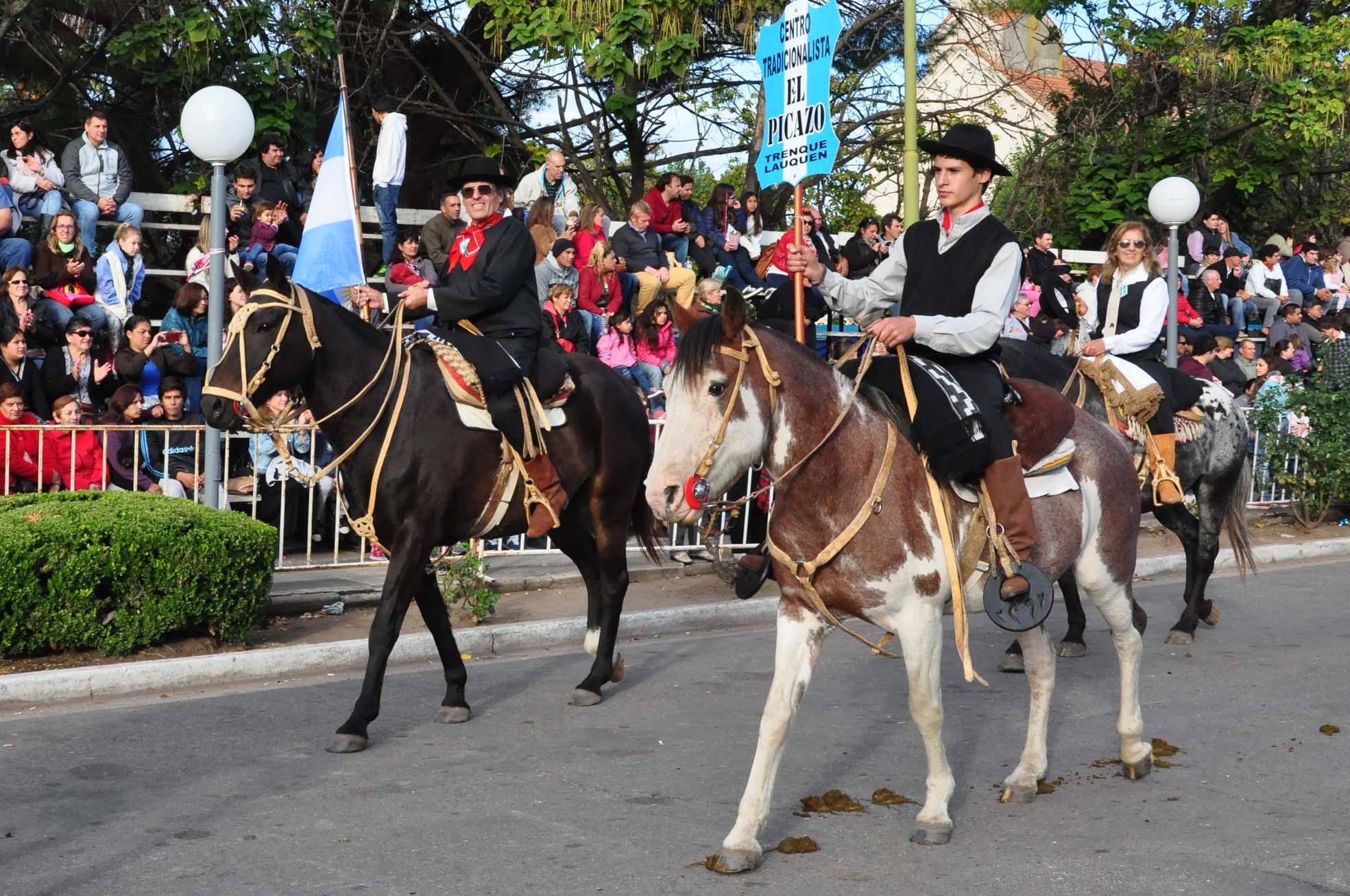 Se realizó ayer el Desfile criollo