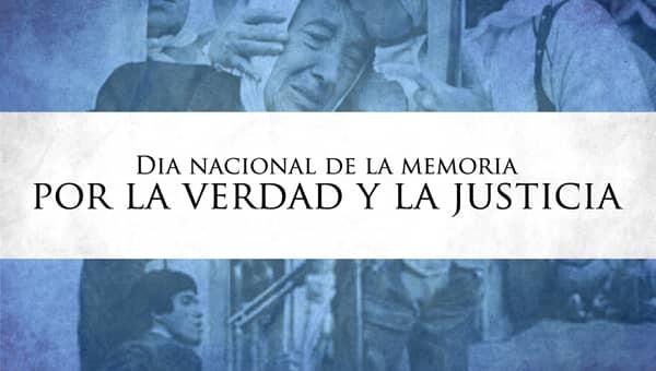 El Municipio adhiere al acto del Día Nacional de la Memoria, por la Verdad y la Justicia