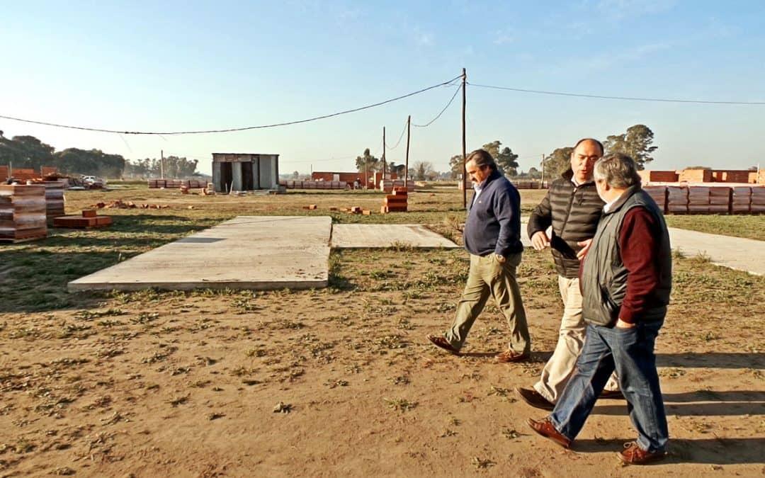 El diputado Oscar Sánchez visitó la Ampliación Urbana y obras municipales
